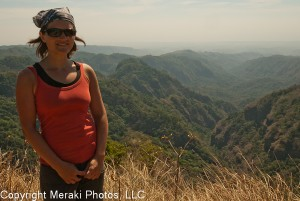 Hiking in El Salvador a few weeks later... and still looking good.