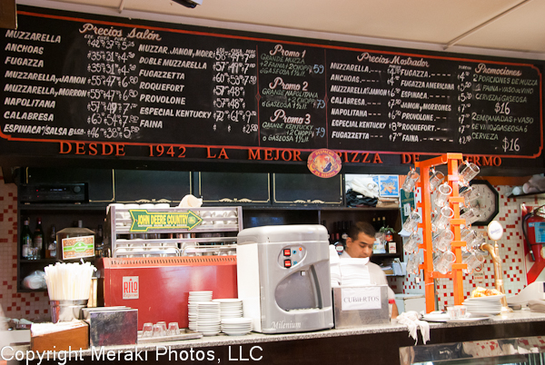 Photo of counter where you order