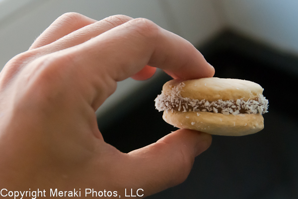 Photo of my alfajor
