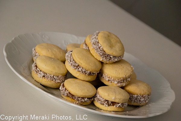 Photo of alfajores