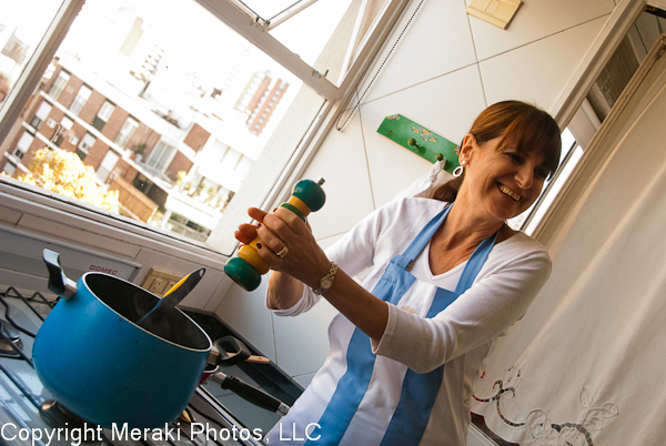 Photo of Norma cooking
