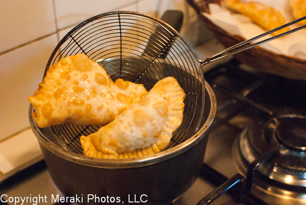Photo of fried empanadas