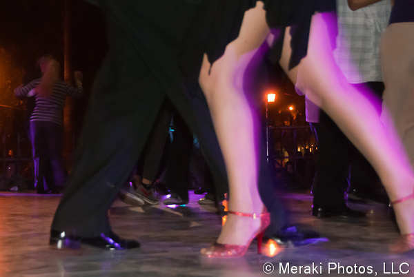 Photo of tango dancers