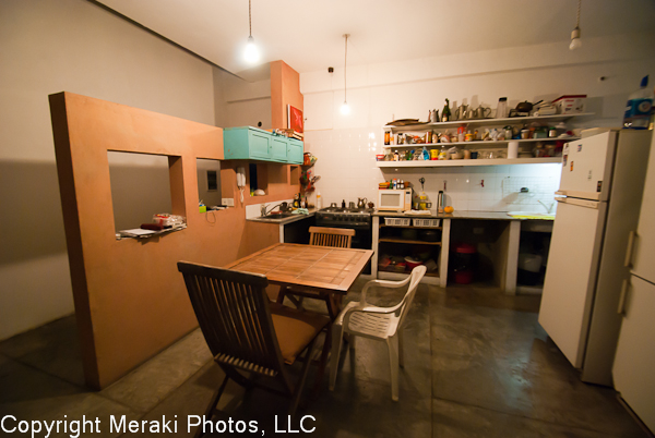 Phot of apartment kitchen