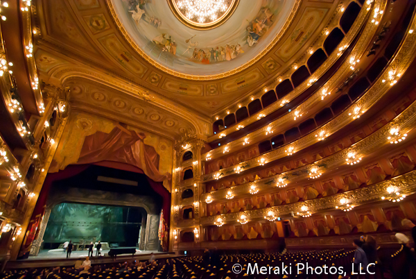 The Impressive Teatro Colon Opera House in Buenos Aires