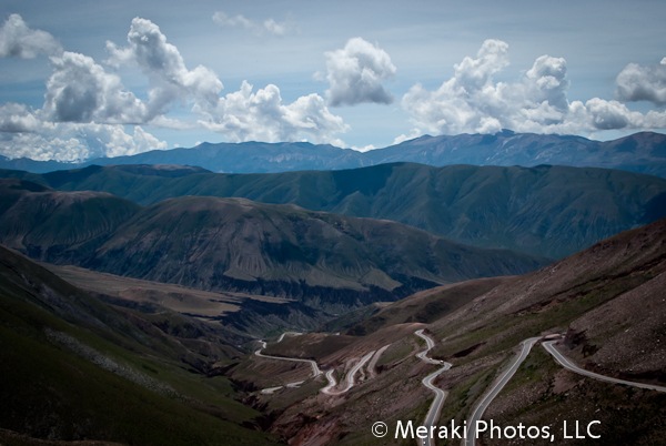 Foto of the Week from … The Middle of the Andes:  Lines