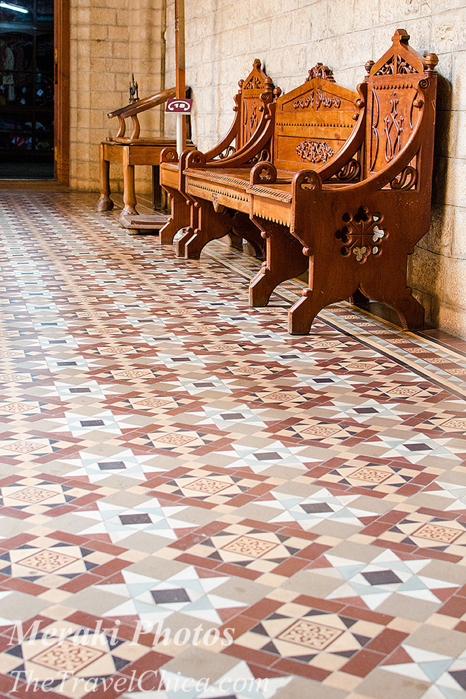 PHOTOS:  Patterns and textures in the Bangalore Palace